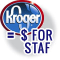 Kroger Card for STAF